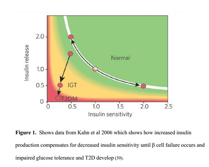 insulin resistance v. IGT Kahn 2006 Nature